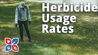 Do My Own Lawn Care - Herbicide Usage Rates