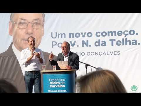 UM NOVO COMEÇO  PELAS PESSOAS  POR VILA NOVA DA TELHA