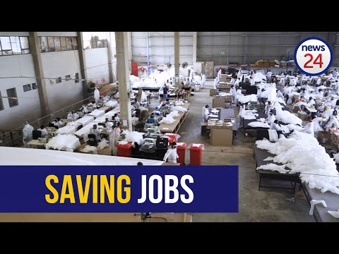 WATCH   Durban furniture company saves nearly a hundred jobs by pivoting to PPE