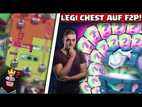 ERSTE LEGENDARY CHEST MIT FREE 2 PLAY! | Road to 4000 Trophi