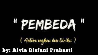 LIRIK LAGU PEMBEDA   Cover by ALVIA RISFANI PRAHASTI