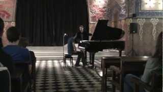 Clase magistral Lluís Rodríguez Salvà - Liszt (parte 2)
