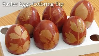 How to Dye Easter Eggs. Creative Easter Egg Coloring Tip!