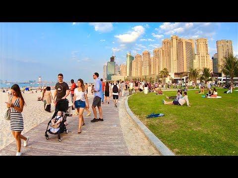 Walk in Dubai Jumeirah Beach Residence