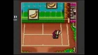 Mario Tennis Game Boy Gameplay