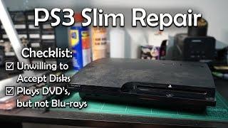 PlayStation 3 Slim Disk Drive Repair