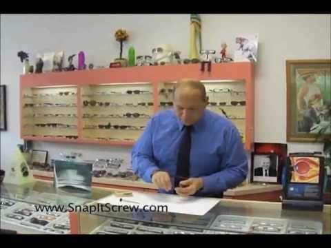 """""""The best eyeglass repair kit""""Fix broken eyeglasses."""