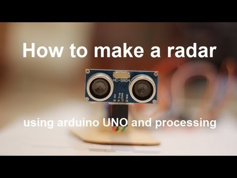 How to make a radar using arduino uno and processing youtube