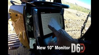 CAT D6XE | Walking through the new 10inch monitor