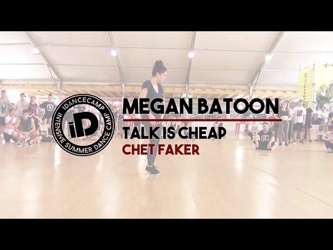 "Megan Batoon ""Talk Is Cheap by Chet Faker"" - IDANCECAMP 2015"