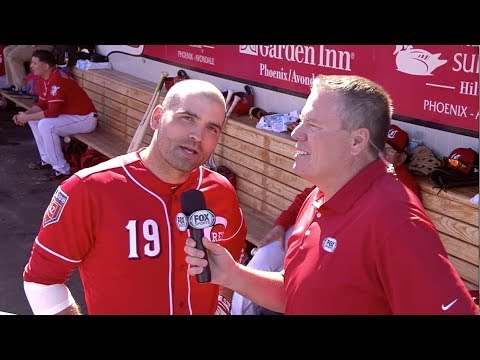 Joey Votto full, epic Reds spring training interview with Jim Day