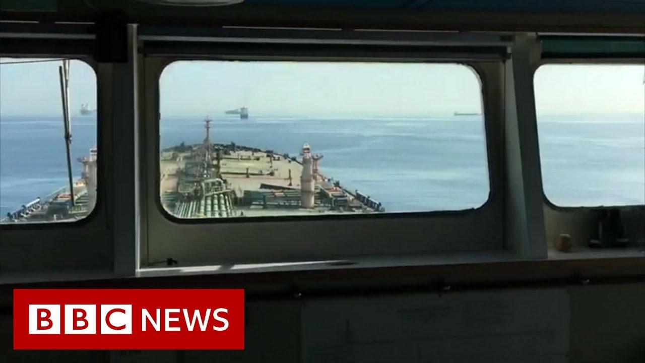 BBC News:Grace 1: Onboard the seized supertanker - BBC News