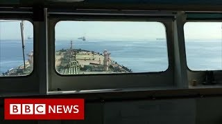 Grace 1: Onboard the seized supertanker - BBC News