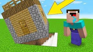 Minecraft Battle - NOOB vs PRO : HOW NOOB FOUND HIDDEN BASE UNDER HOUSE ? (Animation)