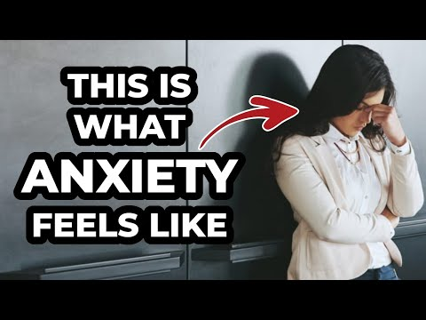 THIS IS WHAT ANXIETY FEELS LIKE