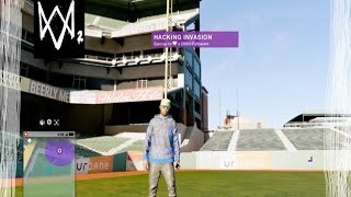 discovering a secret place in watch dogs 2 / how to get into baseball stadium