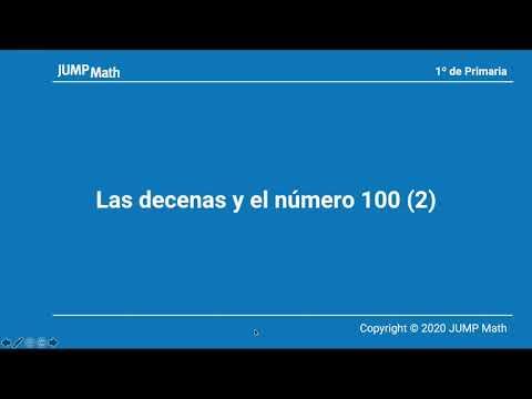 1. Unidad 7. Las decenas y el numero 100 II