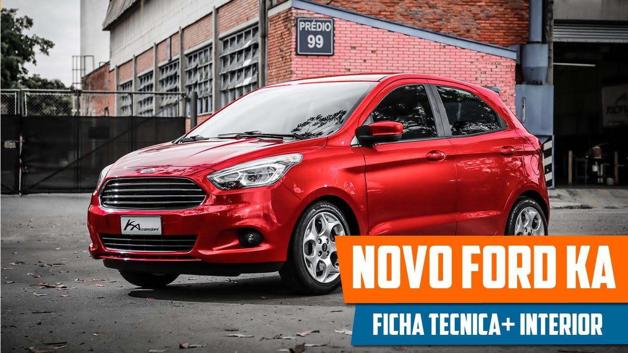 Novo Ford Ka 2015 Preco Ficha Tecnica Consumo Interior E