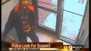 Video captures suspect shooting man in wheelchair
