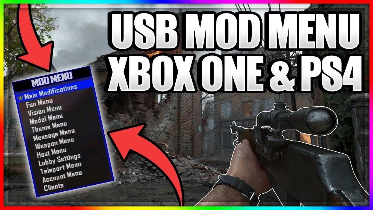 TUTORIAL: How To Install USB Mod Menus on PS4/Xbox + Downloads (GTA V, BO3,  WW2 + MORE)