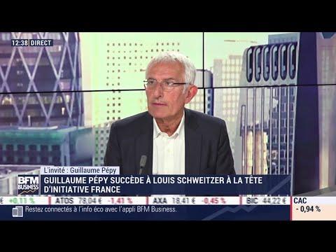 Guillaume Pépy (Initiative France) : Guillaume Pépy succède à Louis Schweitzer