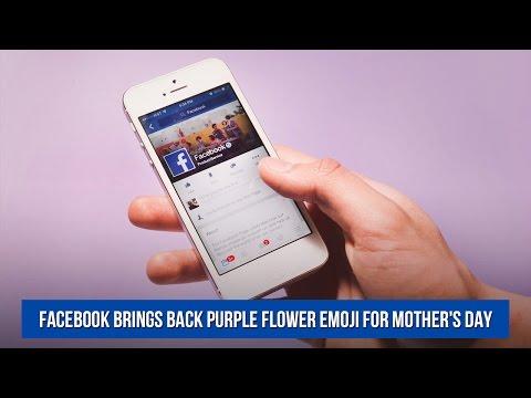 Baixar purple flower emoji - Download purple flower emoji