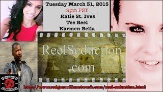 Show #8:  Katie St. Ives, Tee Reel & Karmen Bella