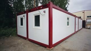 Бытовки жилые утепленные для проживания. Инструкция по сборке модульного здания