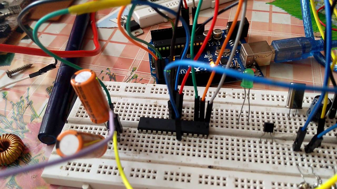 How to make a positive sine wave with arduino uno or avr