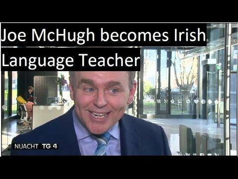 Joe McHugh le ranganna Gaeilge a mhúineadh | Nuacht TG4