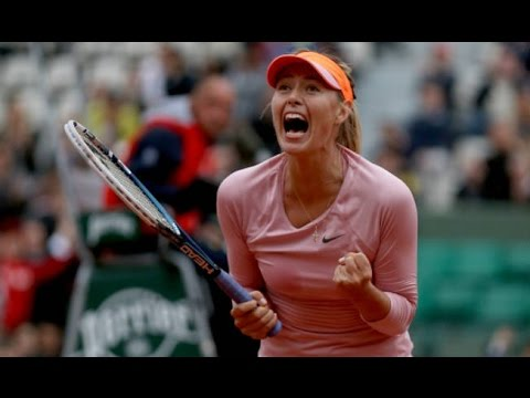 Sharapova VS Stosur Highlight 2014