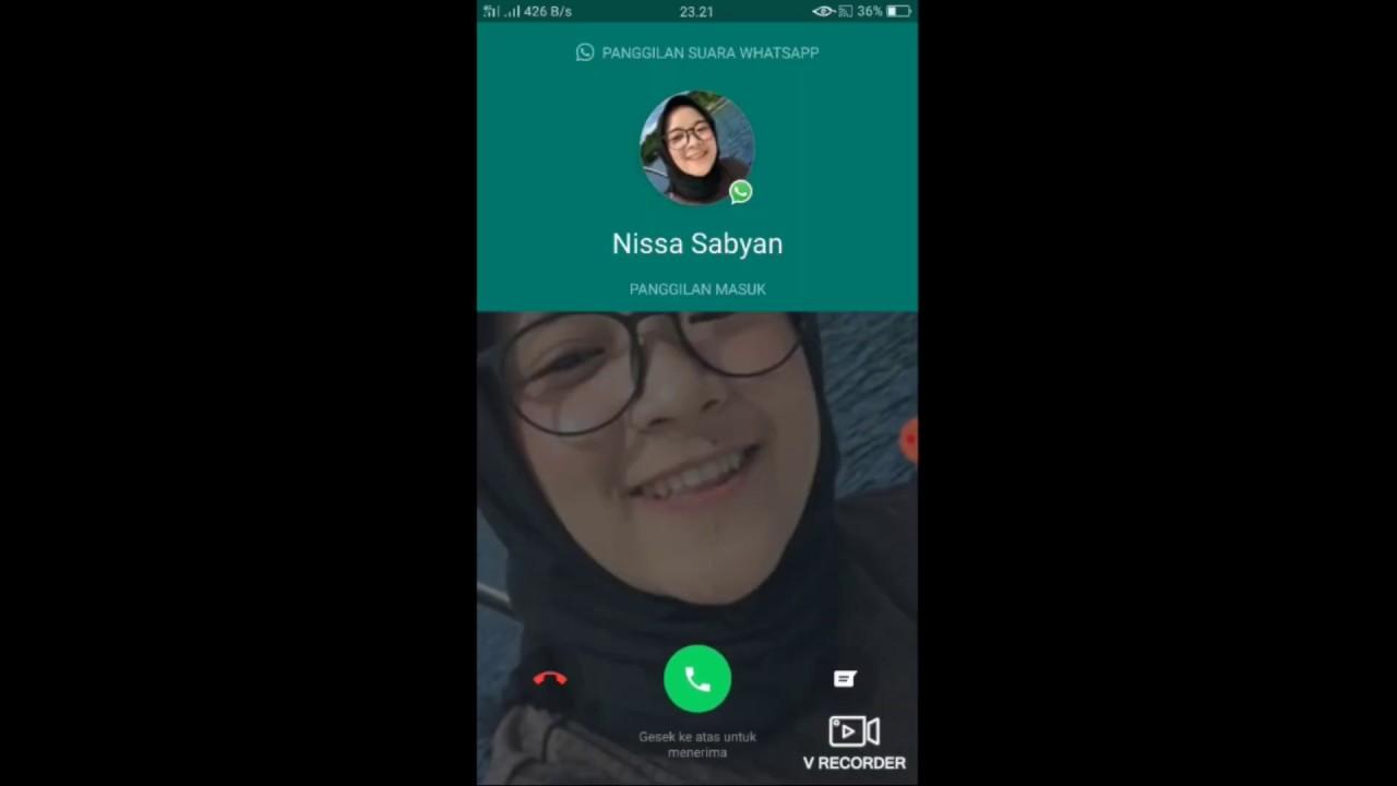 VIDEO CALL NISSA SABYAN - REQUEST MENYANYIKAN LAGU FAVORIT USTADZ SOMAD... EHHMMMM
