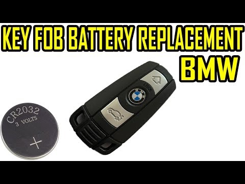 Bmw Key Fob Battery Replacement Comfort Access Smart 1 3