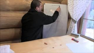 видео Схема коллекторной (лучевой) разводки