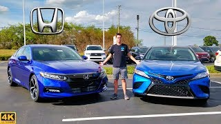 MIDSIZE MADNESS! -- 2020 Toyota Camry vs. 2020 Honda Accord: Comparison