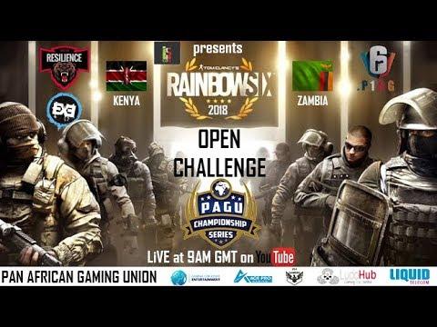 PAGU LiVE   LsCon Open Challenge 2018 - Rainbow Six Siege KENYA VS ZAMBIA friendly