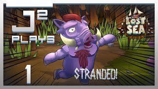 Lost Sea Survival Gameplay - Stranded! - Part 1