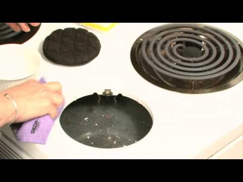 How to Clean Baked-On Stains Off an Enamel Stove Top