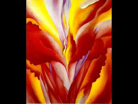 Georgia O'Keeffe: Flowers - YouTube