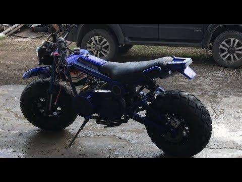Самодельный мотоцикл с
