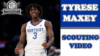 Tyrese maxey scouting video