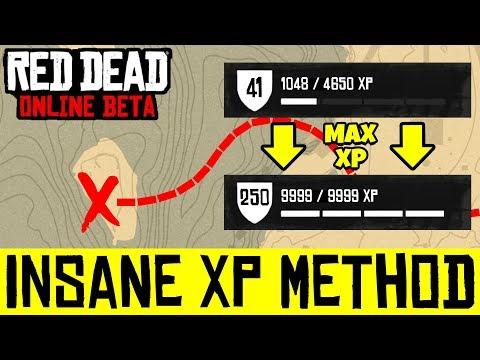 INSANE XP GLITCH IN RED DEAD ONLINE! 6 RANKS PER HOUR LOCATION IN