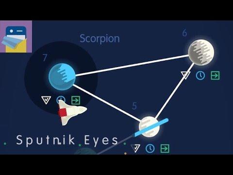 Sputnik Eyes: Scorpion Levels 1 - 7 Walkthrough & Solutions (Shelly Alon)