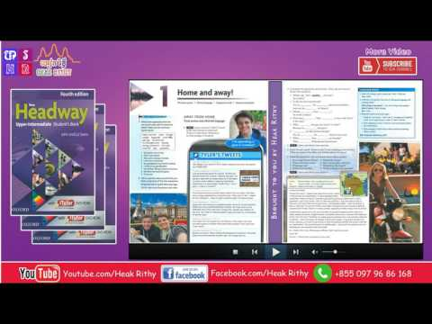 New Headway Upper-Intermediate Student's Book 4th : All Units -Full Lessons