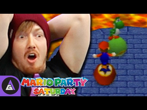 How to Destroy Friendships - Mario Party 2 | Mario Party Saturday