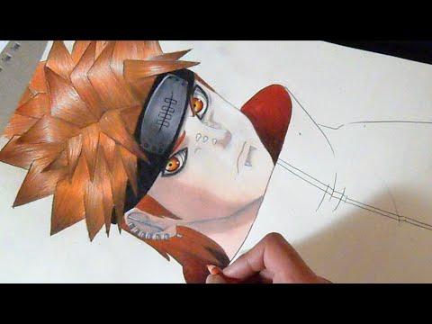 Dessin Pein Yahiko Naruto Shippuden Youtube
