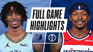 GAME RECAP: Grizzlies 125, Wizards 111