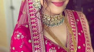 25+Trendy engagement look for girls / best dress makeup hairstyle for engagement / sagai best look