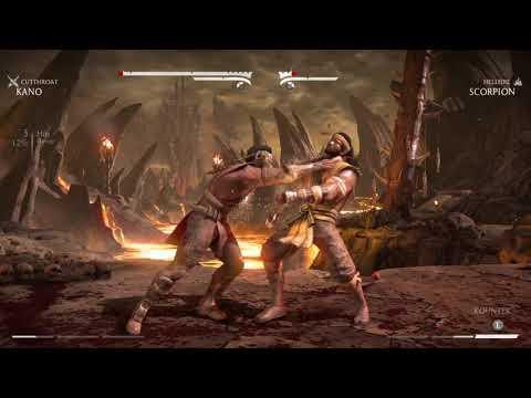 Mortal Kombat X Kano vs Scorpion