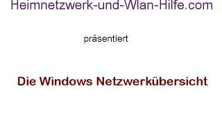 Die Windows Netzwerkübersicht für eine grafische Darstellung deines Heimnetzwerkes nutzen